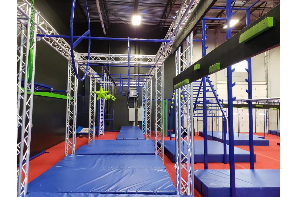 Ninja Playground Obstacles