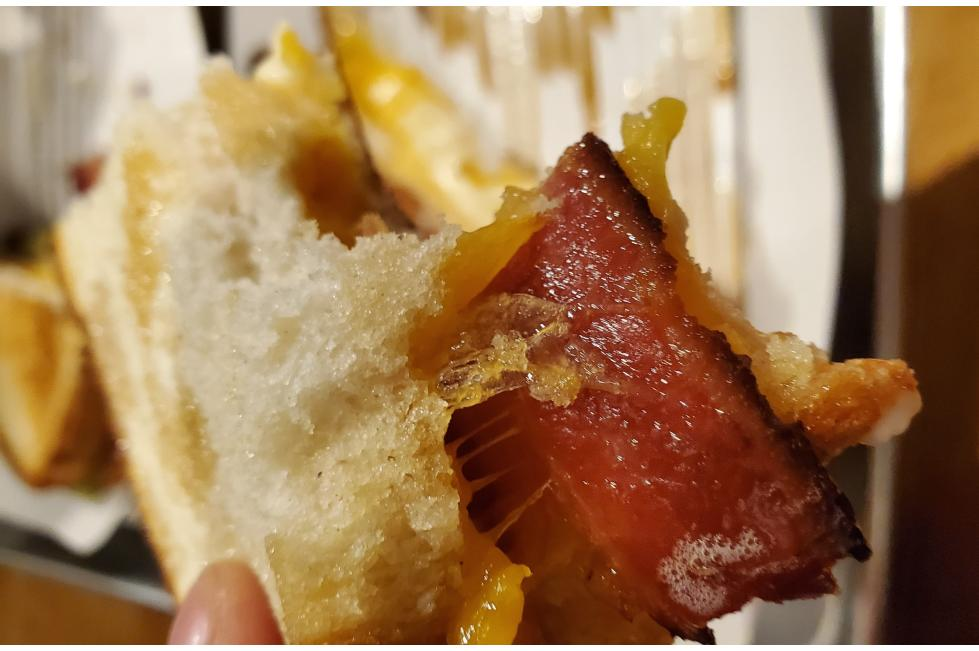 Elevated Grounds Sandwich with Bacon