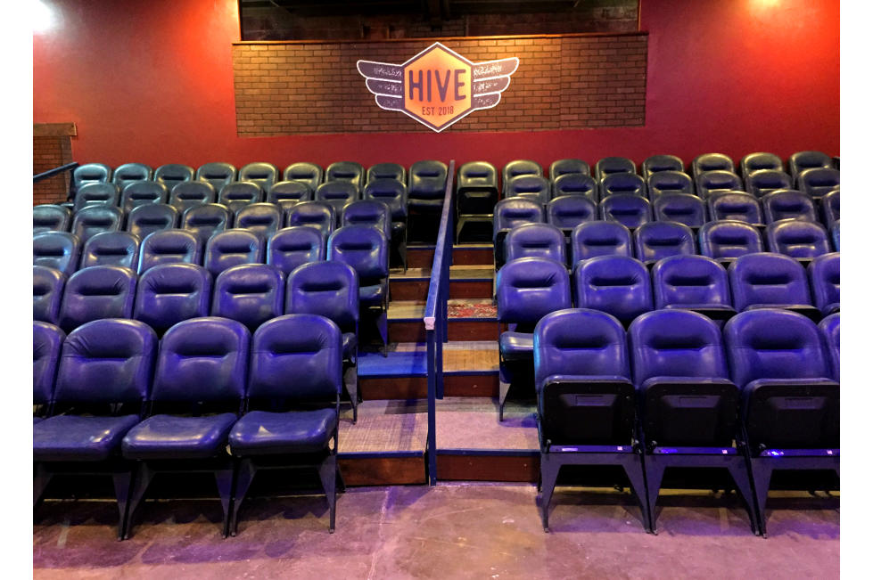 The Hive Collaborative theater seating
