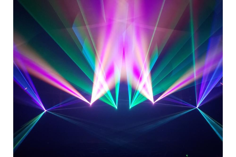 Laser Fusion presents 'Visual Music' -