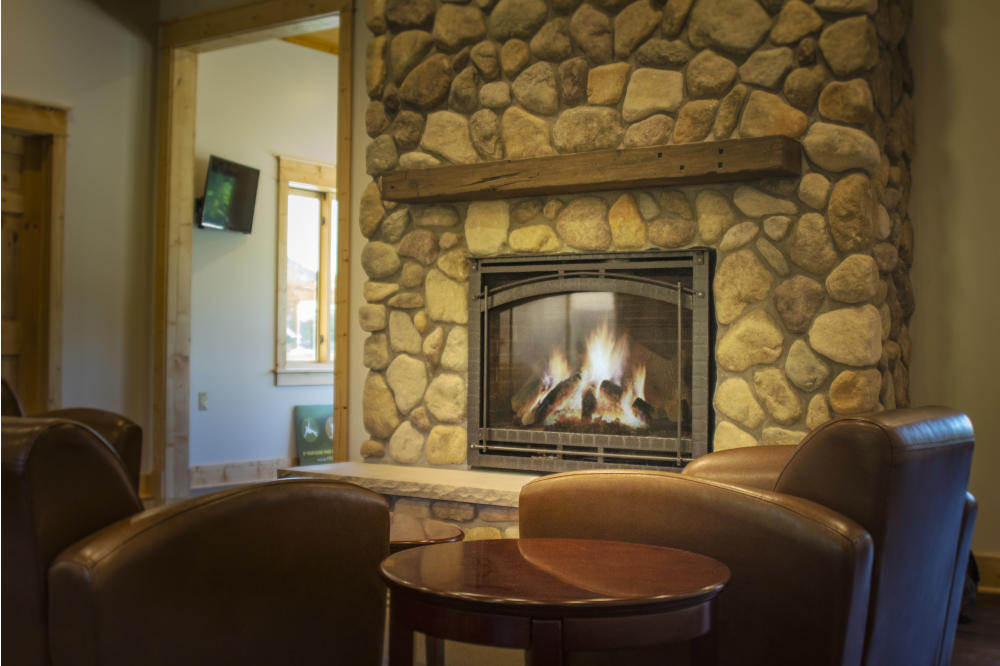 Welcome center_Fireplace