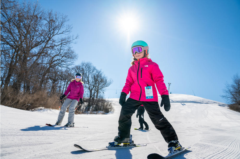 Skiing at The Mountain Top