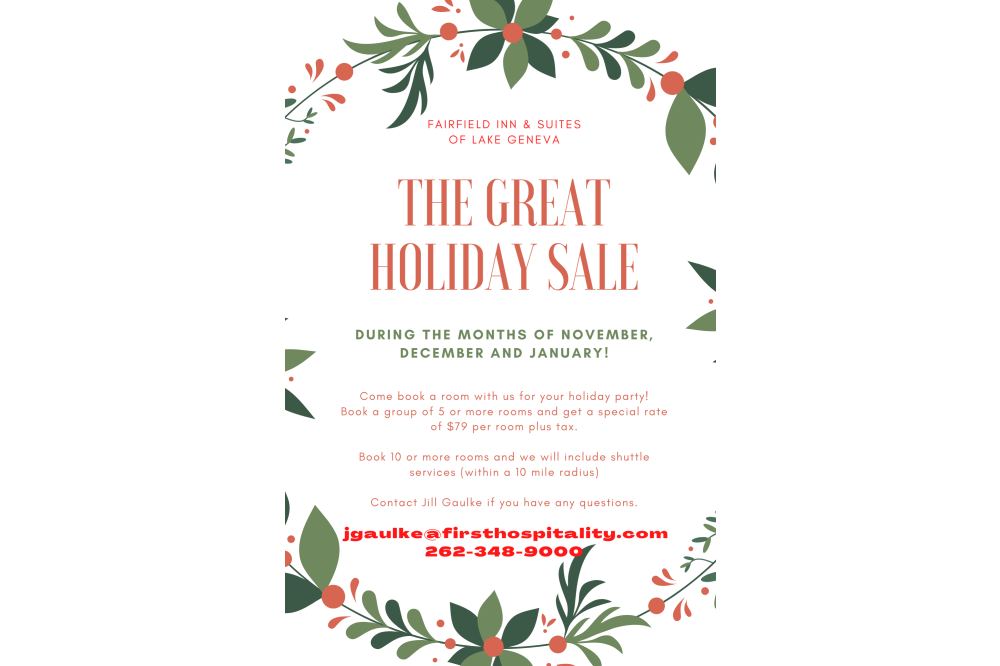 Sales Holiday Flyer