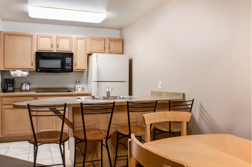 In-room kitchens