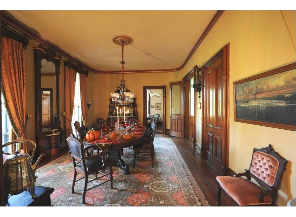 Octagon House dining room