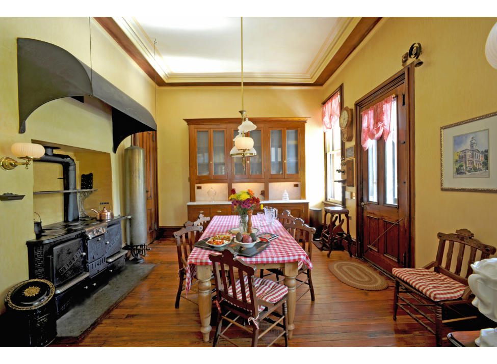 Octagon House kitchen
