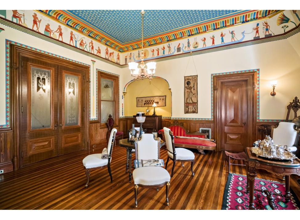Octagon House music room