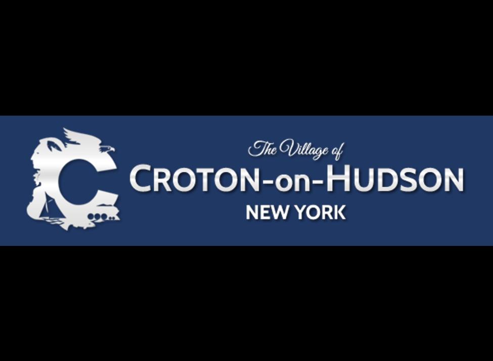 Croton-on-Hudson Village Logo - navy