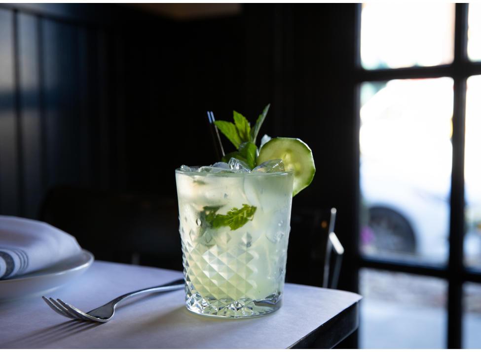 Granita NY moll cocktail