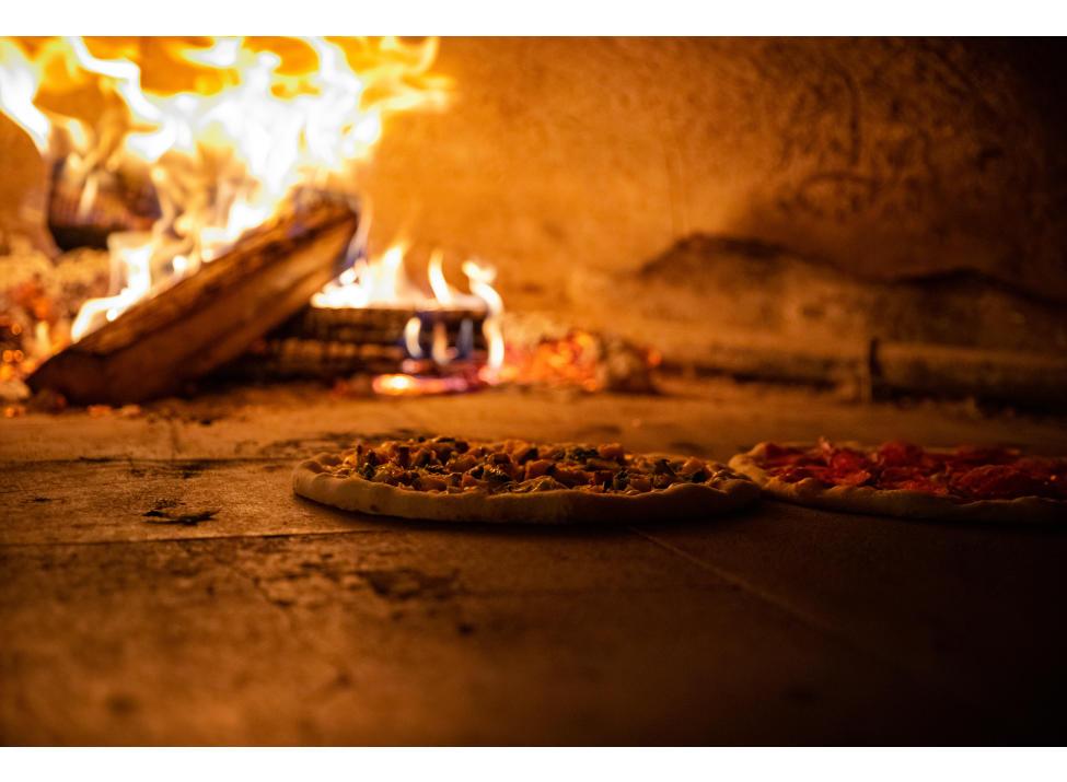 Granita pizza oven