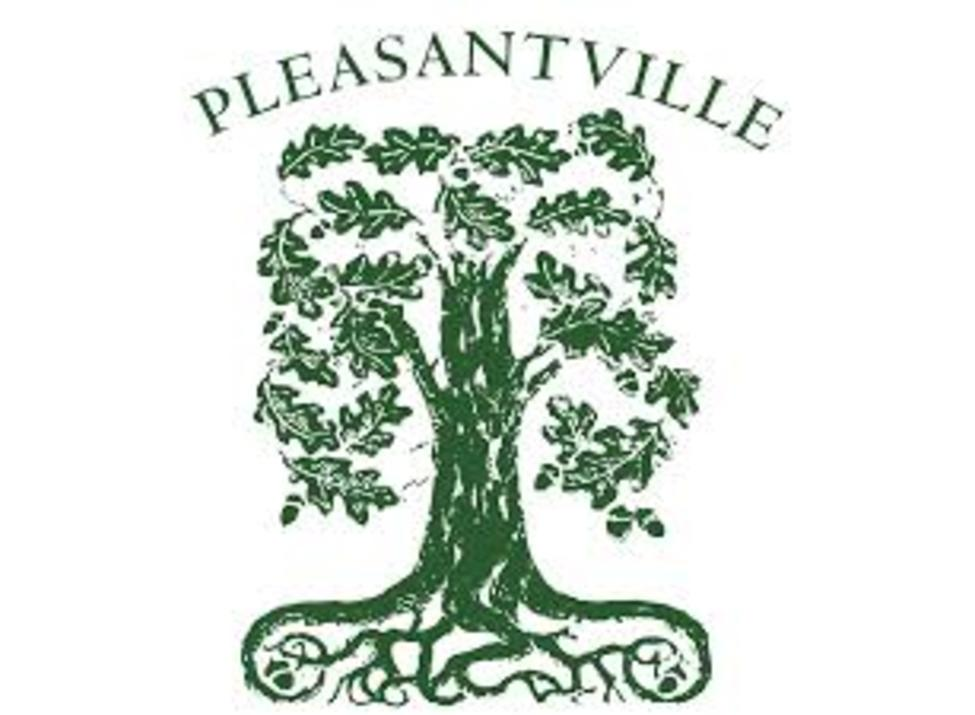 Pleasantville village tree logo