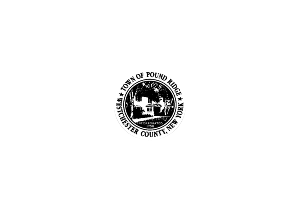 Pound Ridge town logo