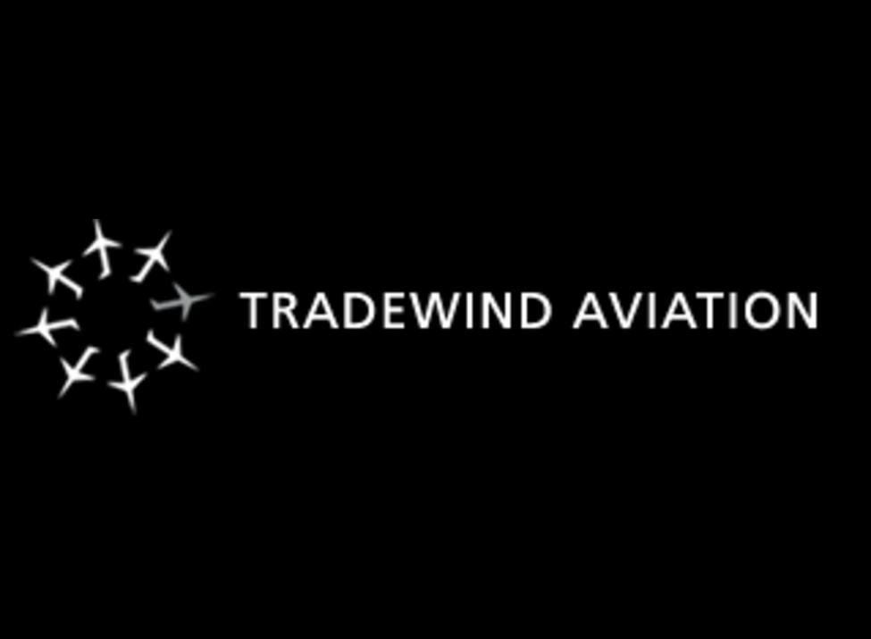 Tradewind Aviation Logo with dark background
