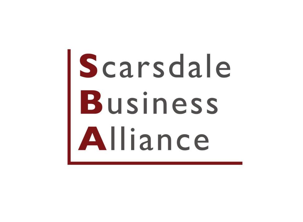 scarsdale business alliance logo