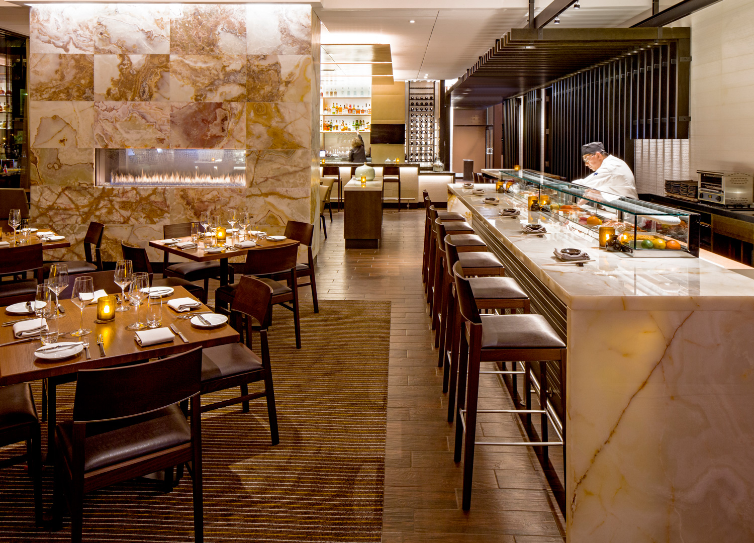 Stetsons Modern Steak + Sushi at Hyatt Regency Chicago