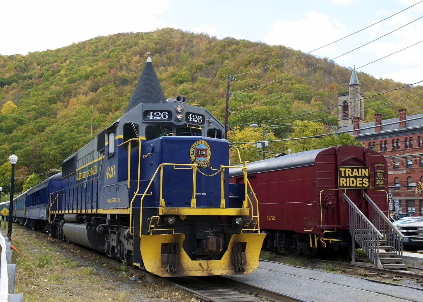 Lehigh Gorge Scenic Railway Jim Thorpe Pa 18229