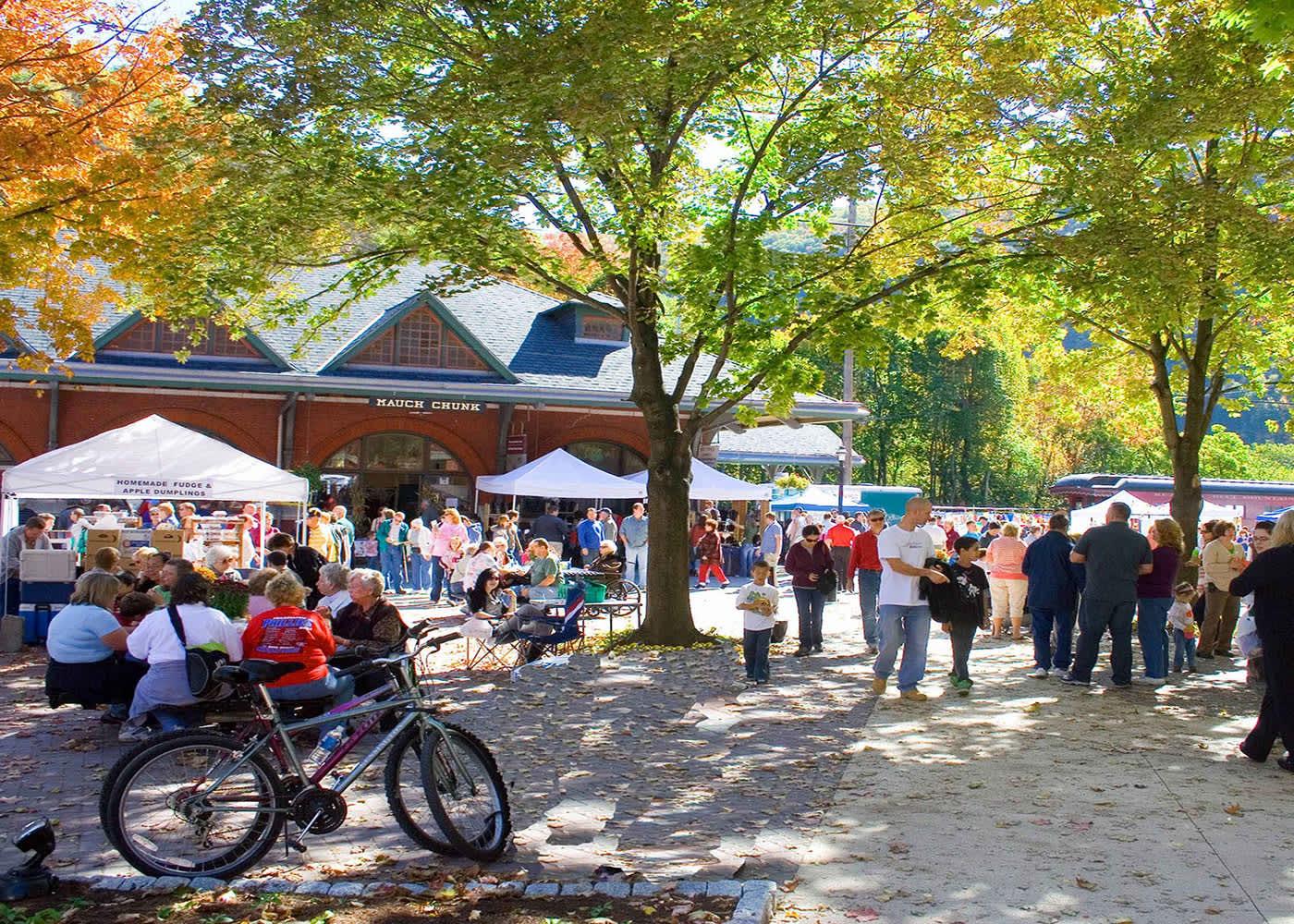Jim Thorpe Fall Foliage Festival   Jim Thorpe, PA 18229