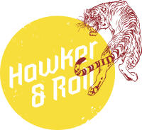 Hawker & Roll logo tiger