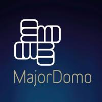 MajorDomo blue square logo18