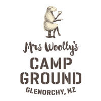 Mrs Woollys campground logo