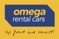 OMEGA logo CMYK tagline yellow