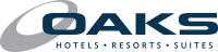 Oaks Hotels resort and suite logo