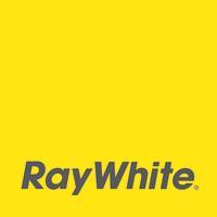 Ray White primary logo yellow CMYK
