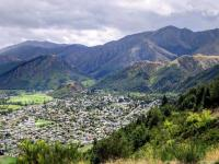 Tobins Track views over Arrowtown