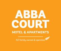 WEB Abba Court Motel white on yellow stacked