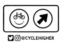 cycle higher LOGO MOno