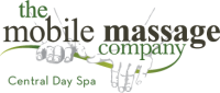 mobile massage master logo Central Day Spa