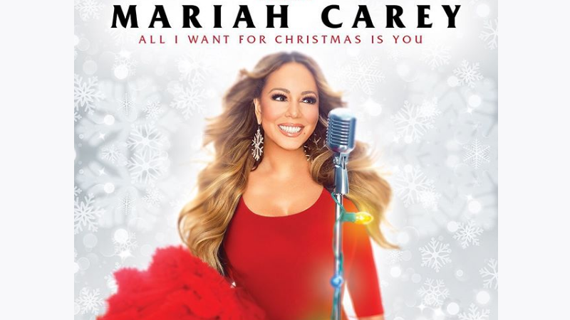 Mariah Carey Christmas Png.Mariah Carey The All I Want For Christmas Is You Tour