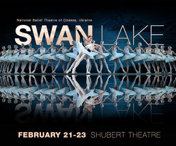 Boston Calendar February 2020 Swan Lake
