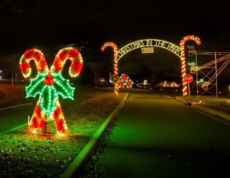 Christmas In The Park.Christmas In The Park