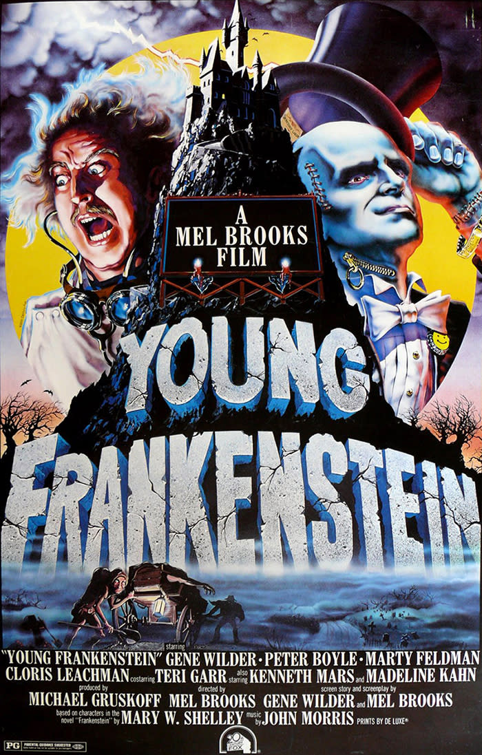 Young frankenstein fist trail script by mel brooks