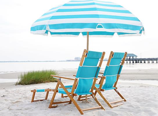 Belly Up Beach Chair Rentals | Ocean Springs, MS 39564
