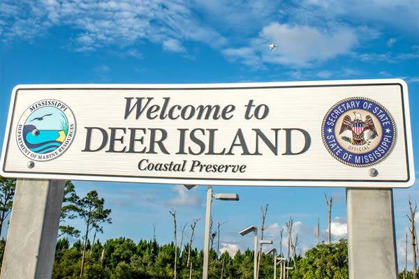 Image result for Biloxi Mississippi Deer Island