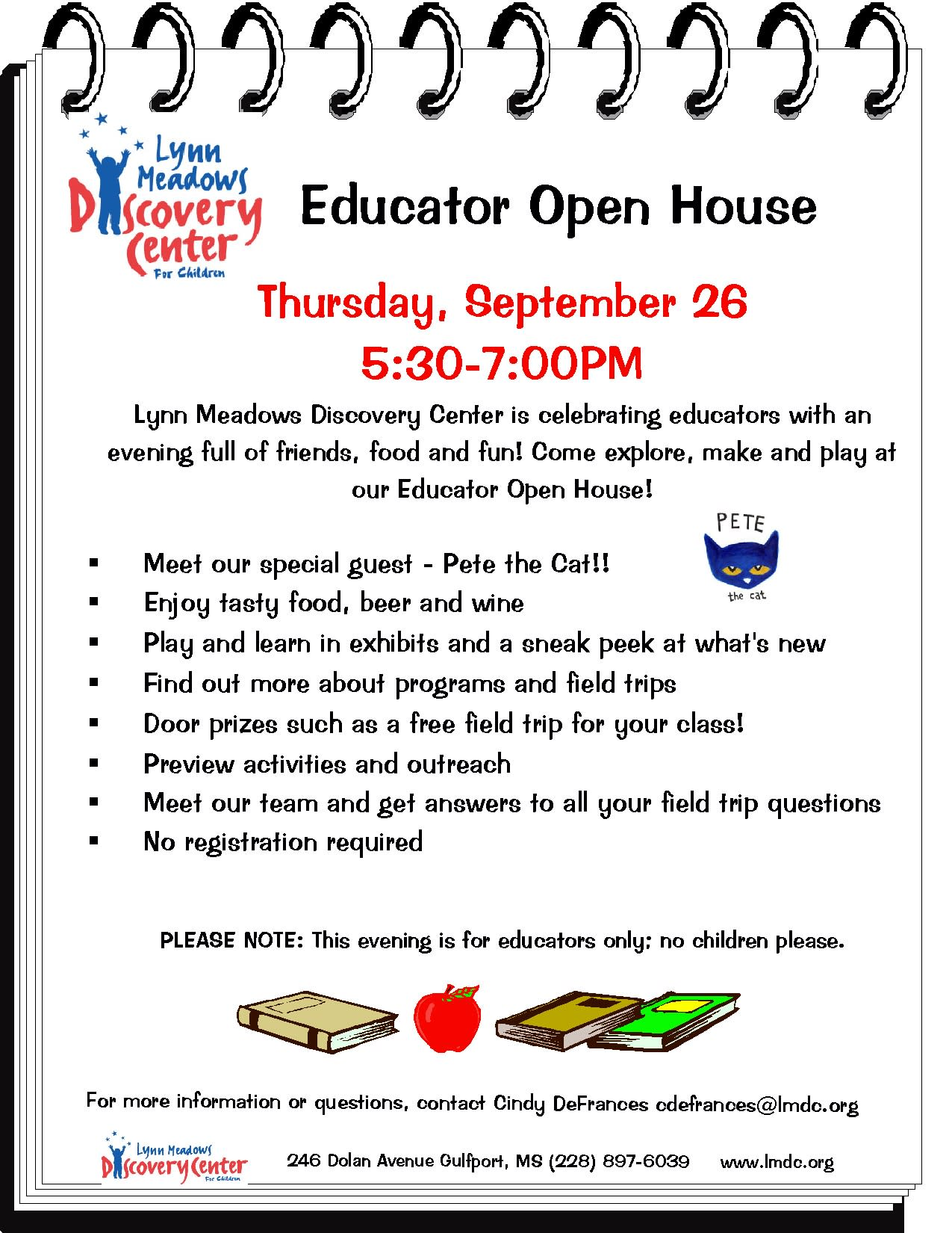 Educator Open House | Gulfport, MS 39507