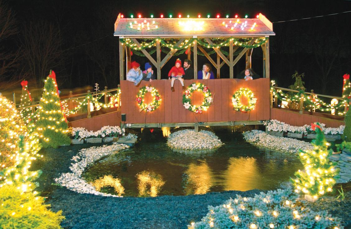 Christmas Villages.Koziar S Christmas Village