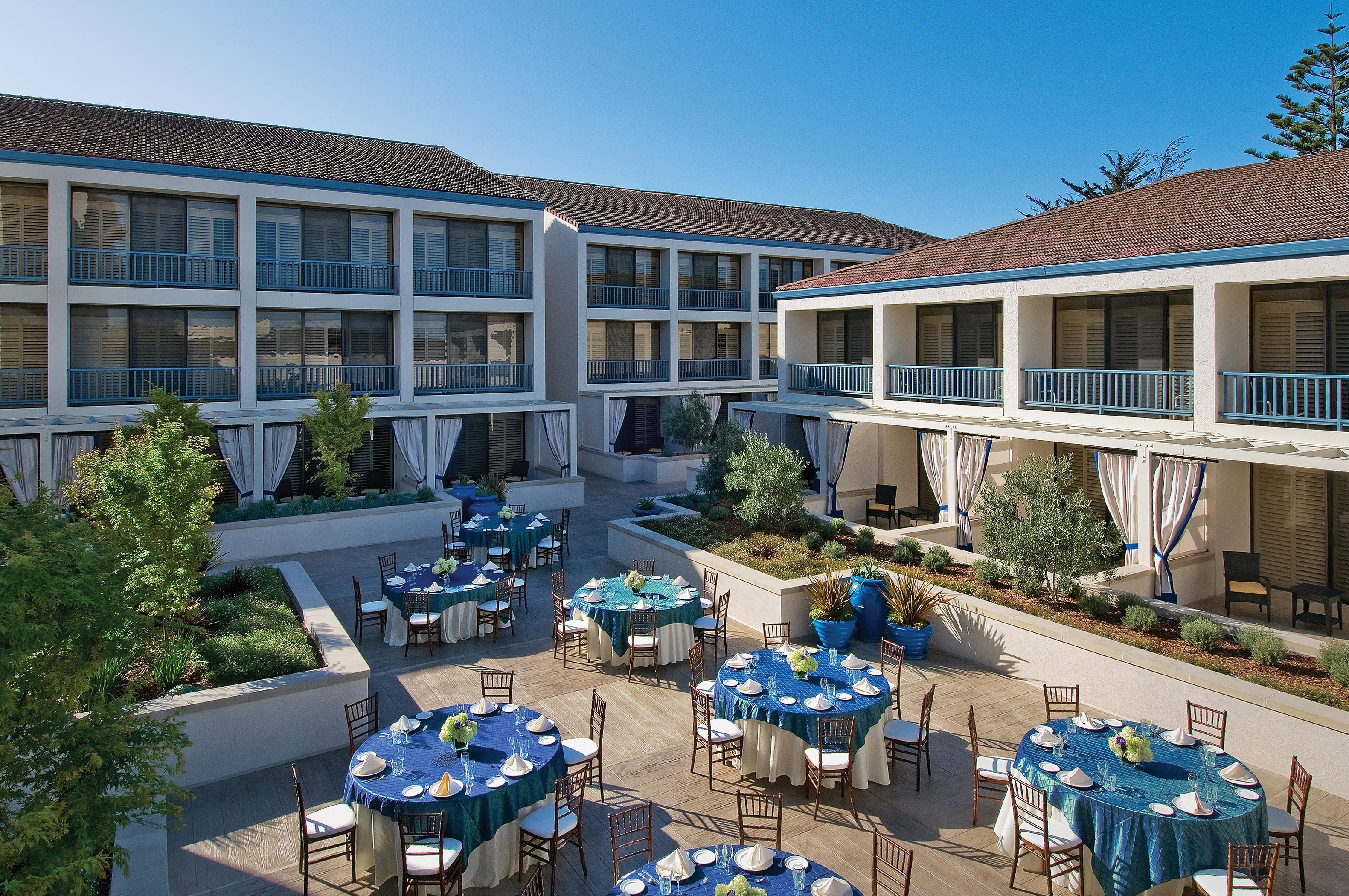 Hotels In Monterey Ca >> Portola Hotel Spa
