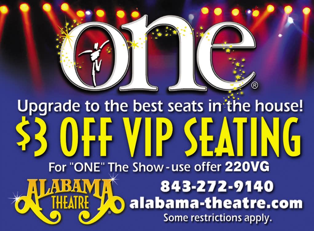 Alabama Theatre - $3 Off VIP Seating