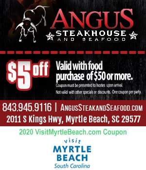 Angus Steakhouse & Seafood - $5 Off