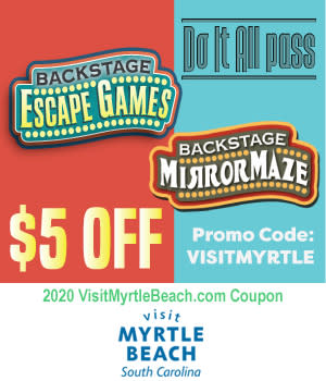 Backstage Mirror Maze - $5 Off Do It All Pass