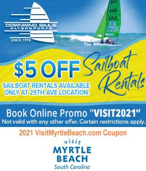Downwind Sails Watersports - $5 Sailboat Rides