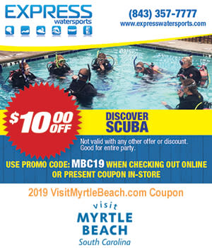 Express Watersports - $10 Off Discover Scuba