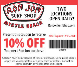 Ron Jon Surf Shop - 10% Off Your Next Purchase