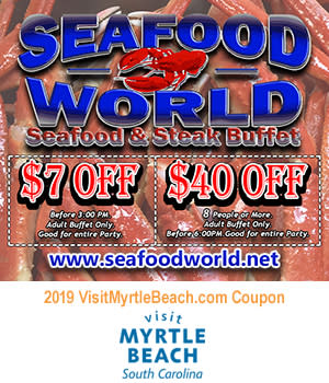 Seafood World Seafood & Steak Buffet - $7 Off or $40 Off 8 People or More