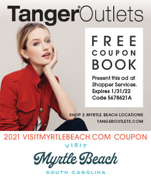 Tanger Outlets - Free Coupon Book