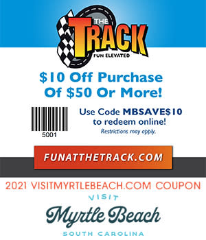 The Track - $10 Off Purchase of $50 or More