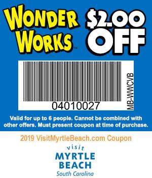 WonderWorks - $2 Off